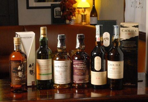 Ampia varietà di Whisky